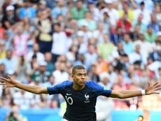 Sur l'Equipe, les vieux matches des Bleus cartonnent. AFP