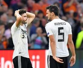 Críticas de Dugarry a los alemanes. AFP