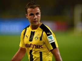 Grosskreutz has urged gotze to join Liverpool. AFP