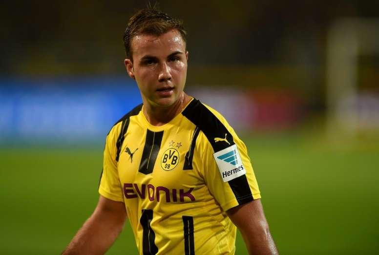 Mónaco, AC Milan y Fiorentina se suman a la lista de pretendientes de Götze. AFP