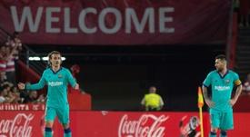 Le Barça coule à Grenade et inquiète déjà. EFE