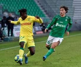 Un but de Nantes sauverait Levante. AFP