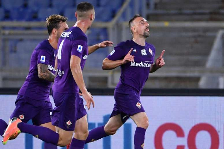 Le président de la Fiorentina apporte son soutien à Ribéry. AFP