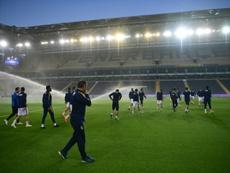 Besiktas privé de Coupe l'an prochain. AFP