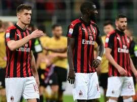 Match nul pour les Italiens du Milan. AFP