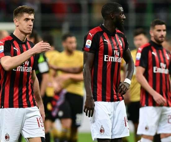 Empate com gosto de derrota em Milão. AFP