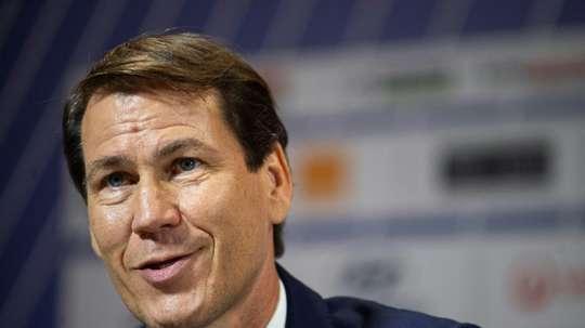 D'un Olympique à un autre, la défiance poursuit Garcia. AFP