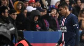 Thiago Silva veut finir sa carrière au Brésil. AFP