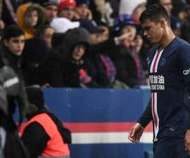 Thiago Silva può giocare nel Barcellona. AFP