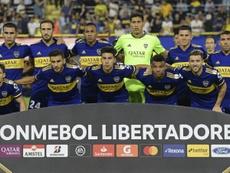 Boca Juniors suspend l'entraînement. AFP