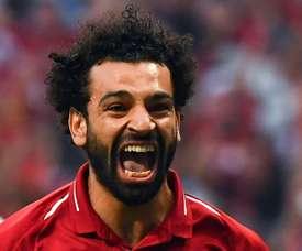 Salah no se recupera para el 'clásico'. AFP