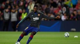 Koeman compte sur Dembélé et ne souhaite pas le voir partir. AFP