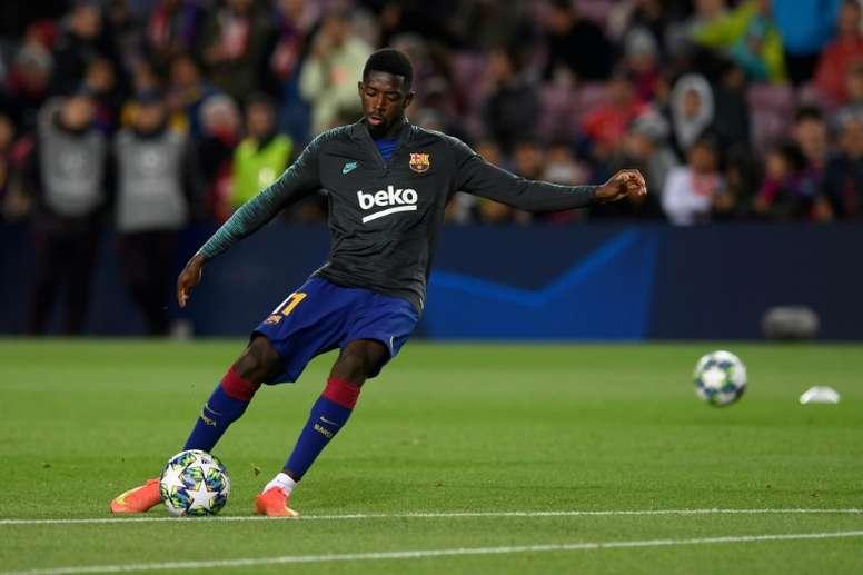 Ousmane Dembélé a recalé un cador de Premier League. afp