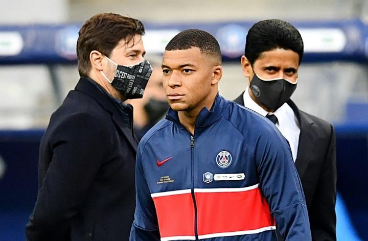 ¿Cómo jugaría el Madrid con Mbappé? AFP