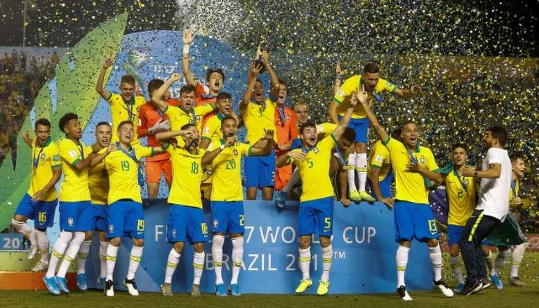 Mondial U17: le Brésil sacré chez lui