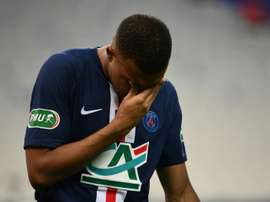 Mbappe cannot wait any longer and he will be subjected to more tests this Monday. AFP
