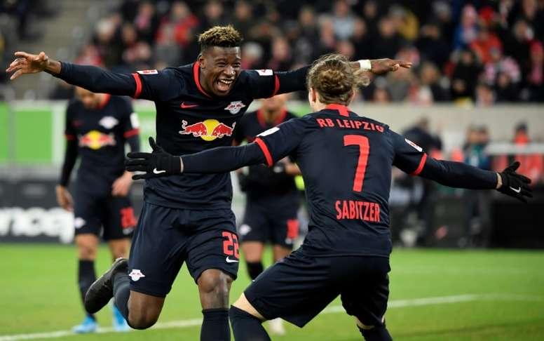 Mukiele has been linked with Bayern. AFP