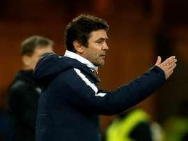 Sylvain Ripoll lors du match amical face à l'Allemagne. AFP
