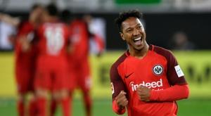 Francfort obtient un nul heureux mais précieux à Wolfsburg. AFP