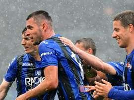 L'Atalanta surpasse la Lazio pour aller en demie. AFP