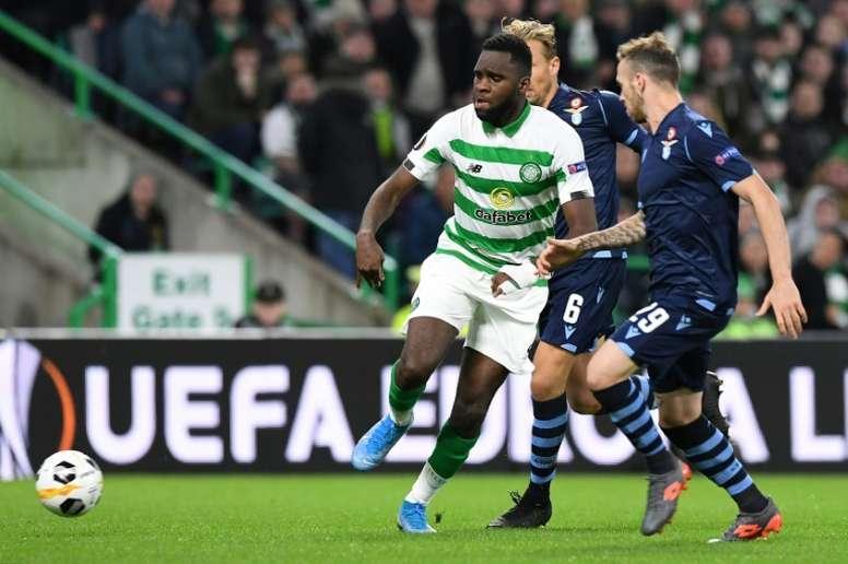 El Leicester quiere al goleador de moda en Escocia. AFP