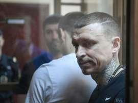 Les deux joueurs russes iront en prison. AFP