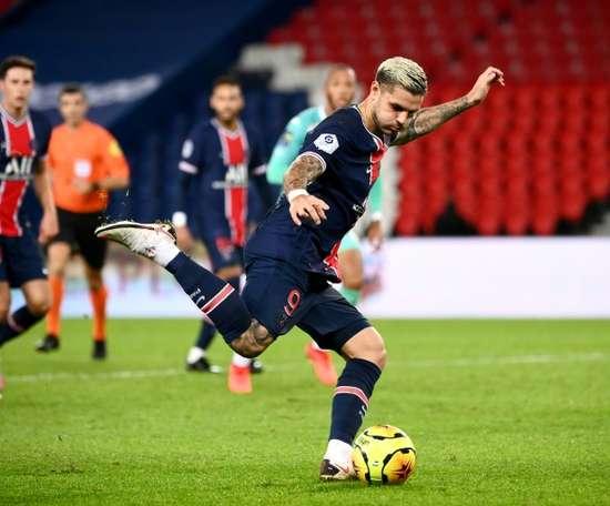 Icardi forfait contre Leipzig, Verratti incertain. AFP