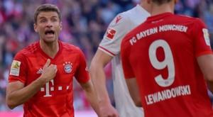 Salihamidzic descarta a saída de Müller em janeiro. AFP