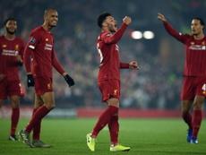 Liverpool assure et peut penser à City . AFP