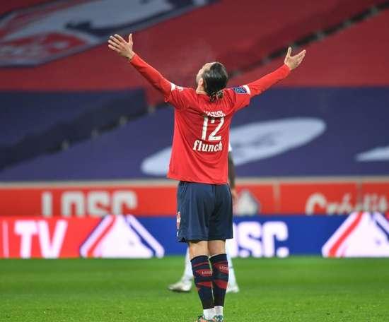 Yusuf Yazici joueur du mois de décembre en Ligue 1. afp