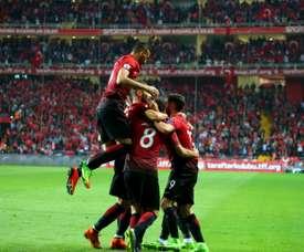 Tunísia e Turquia empatam. AFP