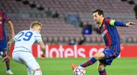 Les deux meilleurs coachs selon Leo Messi. AFP