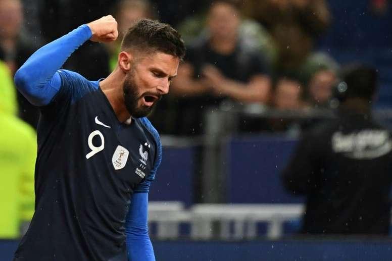Giroud pour remplacer Alexis Sanchez, blessé ? AFP