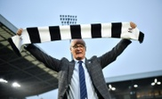 Ranieri pictured at Fulham's Craven Cottage. AFP