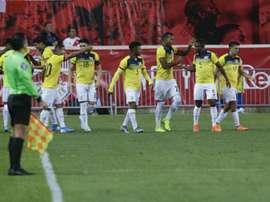 L'Équateur se joue du Pérou. AFP