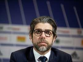 Enfin un coup gagnant pour Juninho à Lyon. AFP