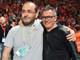 Nîmes écarte son directeur sportif Laurent Boissier. AFP