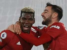 Pogba remet United en tête. qfp