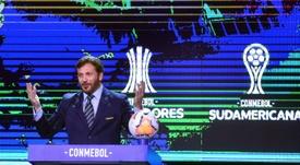 Conmebol divulga novas medidas para a retomada das competições. AFP
