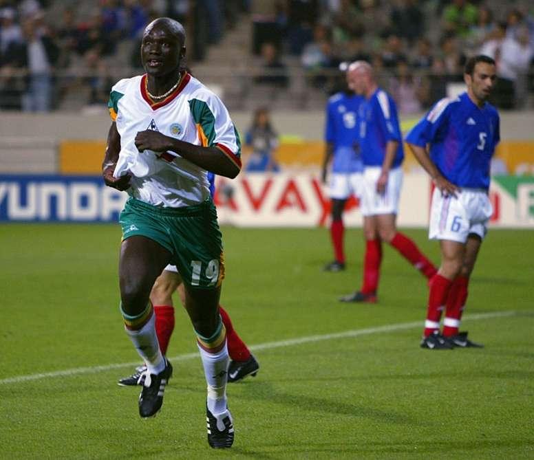 Le Sénégal fait ses adieux à Papa Bouba Diop, héros de la Coupe du monde. AFP