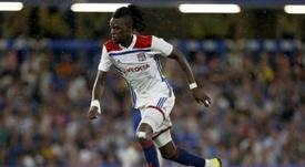 Traoré est critiqué cette saison. AFP