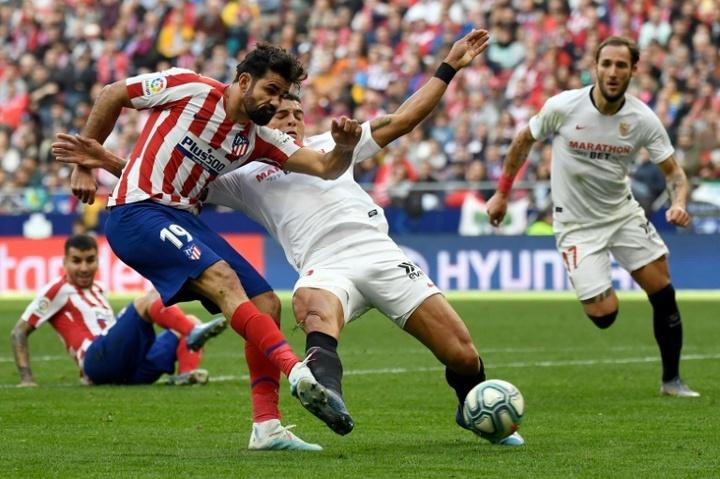 Atlético-MG tem acordo verbal com Diego Costa. AFP