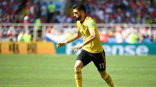 Yannick Carrasco is a transfer target for both Bayern Munich and Arsenal. AFP
