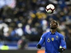 Paul Pogba va porter plainte après des rumeurs sur un retrait de l'équipe de France. AFP