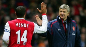 Arsenal legend Thierry Henry - where does he place on the list? AFP
