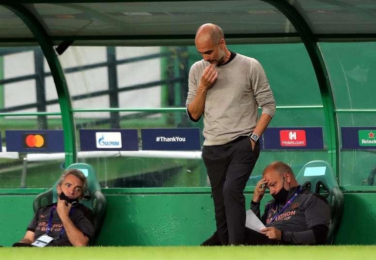 Guardiola veut rester à City. AFP
