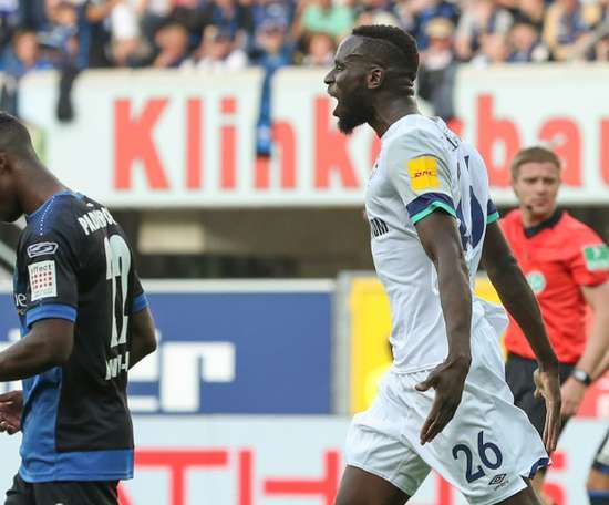 Salif Sane will be out for a few months for Schalke. AFP