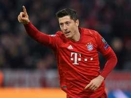Um Bayern e duas facetas na Europa e Bundesliga. AFP