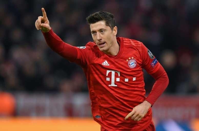 Sem Lewandowski, o Bayern estaria lutando para não cair. AFP