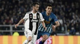 Las últimas palabras de Pjanic como 'bianconero'. AFP